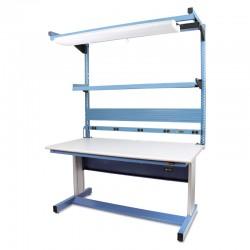 "IAC Electric Height Adjustable Workbench 30""D x 60""W (940 Series)"