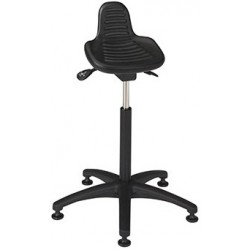 Bevco Sit Stand Stool - Ergonomic Polyurethane Standing stool
