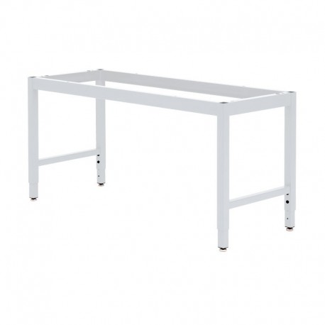 """LAB TABLE FRAME - ADJUSTABLE or FIXED 30-36"""" (H) X 24-36"""" (W) X 48-96"""" (L)"""