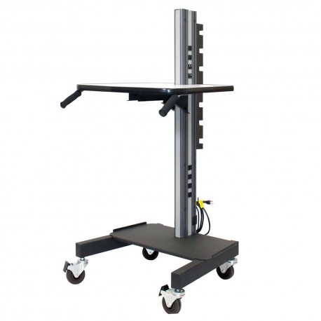 """IAC S6 Mobile/Rolling Task Cart Base Model (Reduced Height 56.5"""")"""