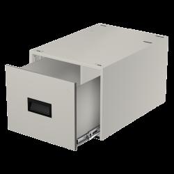 "LT Single 12"" file drawer w/lock"
