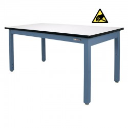 """Steel Industrial ESD Workbench/Work Table 36"""" by 72"""""""