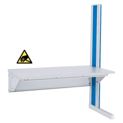 "IAC D4 - Single Sided Add-on Unit - 72"" Length, ESD Surface"